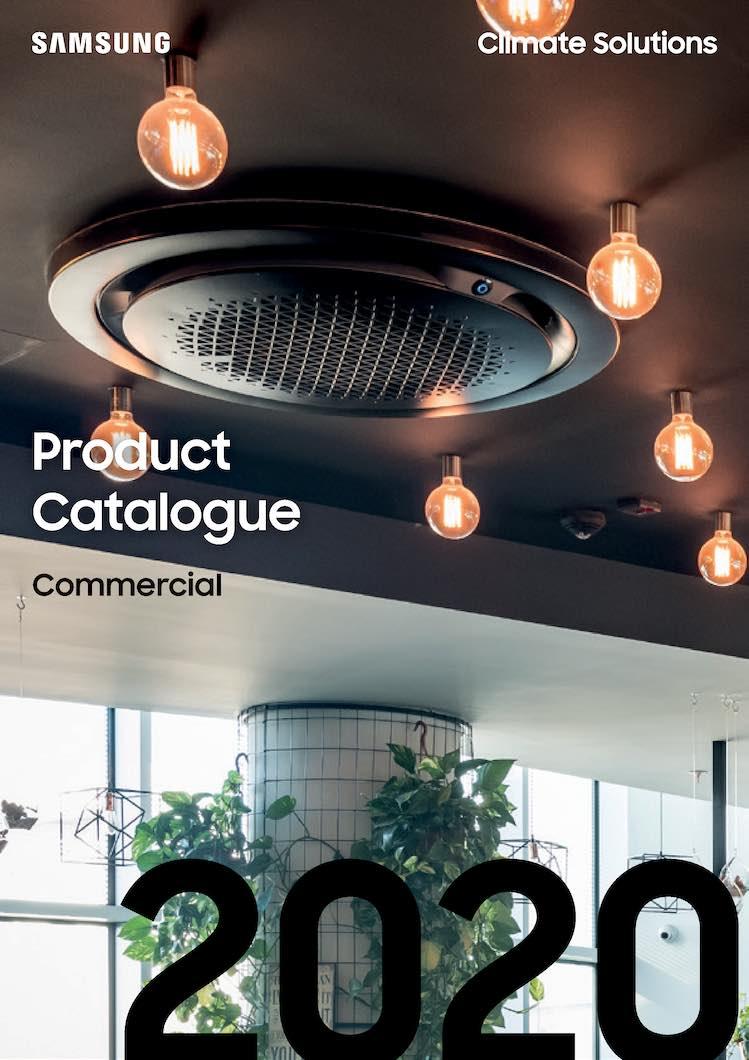 Samsung-DVM-Product-Katalog-2020 - klimaløsninger fra wellair.dk