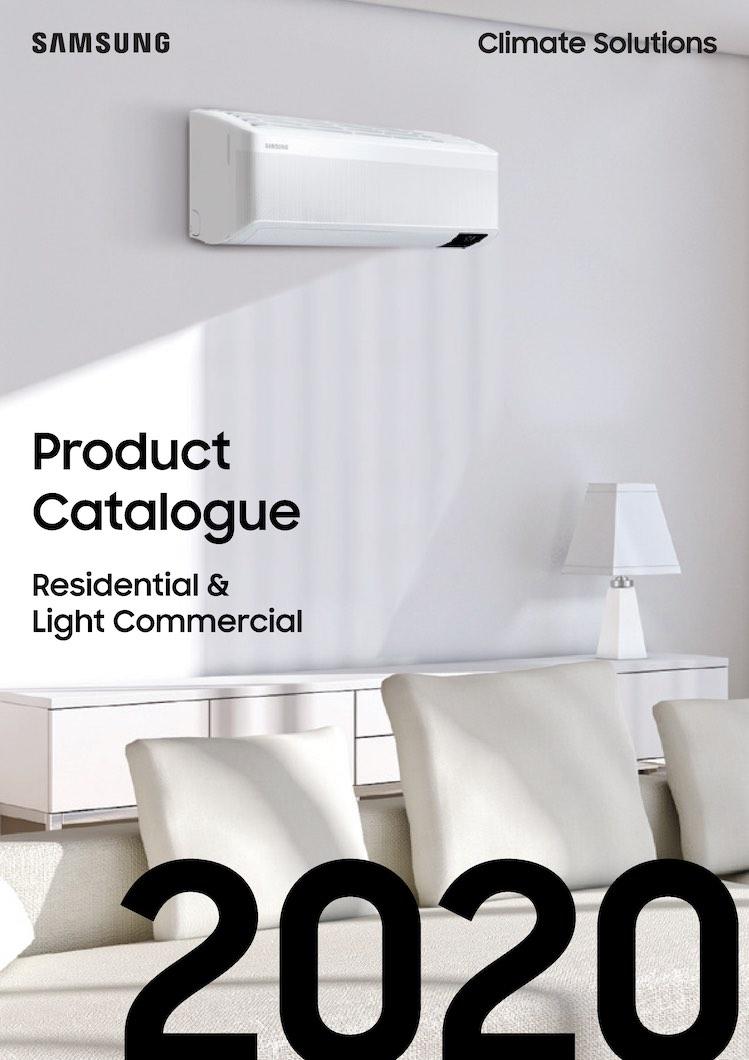 Samsung RAC & CAC Product Katalog 2020 - Samsung klimaløsninger bestil hos wellair.dk